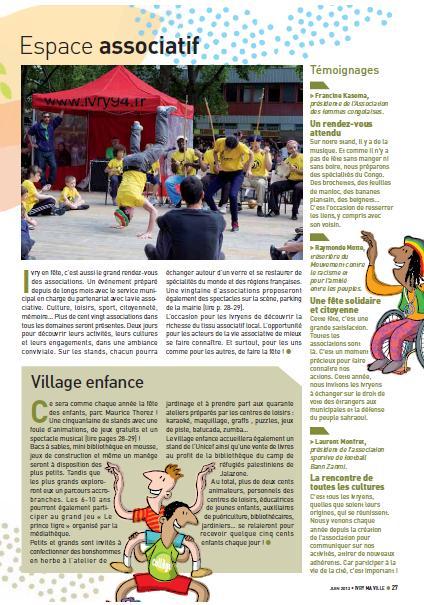 Ivry en Fête 2012 - Ivry Ma Ville - Photo capoeira