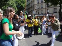 Démonstration de capoeira Fairpride 2012 à Paris