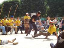 Démonstration de capoeira Ivry en Fête 2012