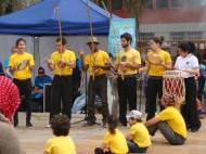 Démonstration de capoeira Ivry en Fête 2013