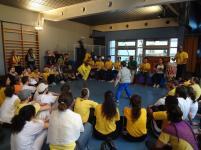 Roda de capoeira à Ivry novembre 2012