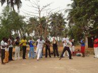 Roda de capoeira à Lomé, Togo février 2013