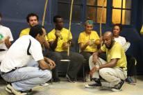 Roda capoeira angola septembre 2013 Gcalv Paris Ivry